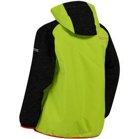 Regatta Deviate Jacket Kids Lime Zest/Black Reflective